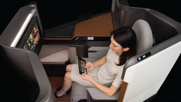 High Tech Airline Seat by Panasonic Makes Waves
