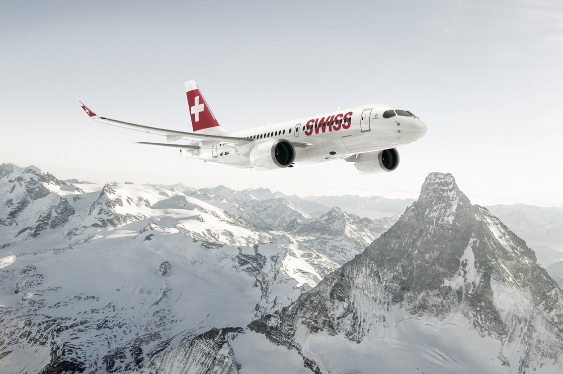 Swiss Airline Offering Wider Middle Seats